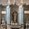 Posąg leżącego papieża Juliusza II, Michał Anioł, pomnik nagrobny papieża, bazylika San Piero in Vincoli