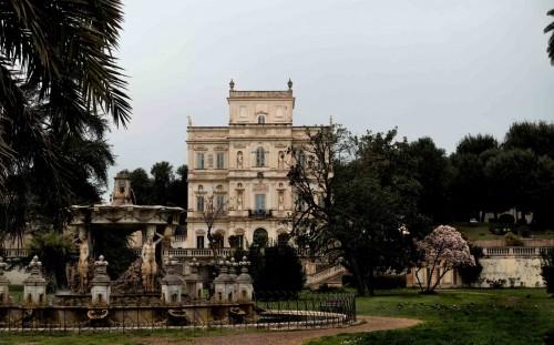 Casino di Villa Doria Pamphilj, widok od strony parku