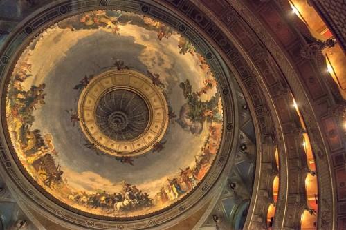 Teatro dell'Opera di Roma, ceiling decorations