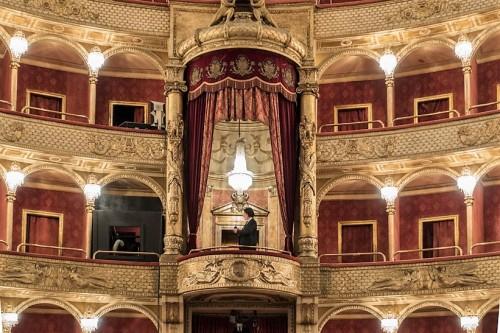 Teatro dell'Opera di Roma, loża królewska