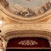 Teatro dell'Opera di Roma, dedicative inscription commemorating the theatre reconstruction in 1926