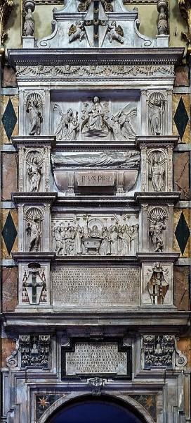 Nagrobek papieża Piusa II, kościół Sant'Andrea della Valle