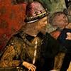 Domniemany portret Cesare Borgii, fragment, apartamenty Borgii, pałac watykański