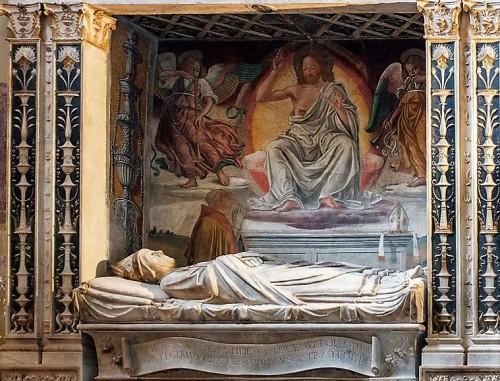 Melozzo da Forlì, Chrystus jako Sędzia między aniołami, fresk, bazylika Santa Maria sopra Minerva