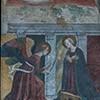 Melozzo da Forlì,  Zwiastowanie (dzieło przypisywane artyście), kościół Santa Maria ad Martyres (Panteon)