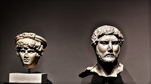 Cesarz Hadrian i Antinous, Museo Nazionale Romano, Palazzo Massimo alle Terme