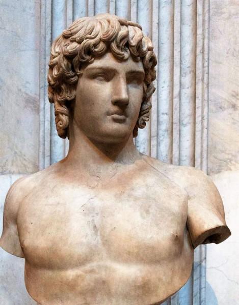 Popiersie Antinousa, Musei Vaticani
