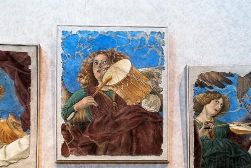 Melozzo da Forlì, freski z dawnej absydy bazyliki Santi XII Apostoli, obecnie Pinacoteca Vaticana