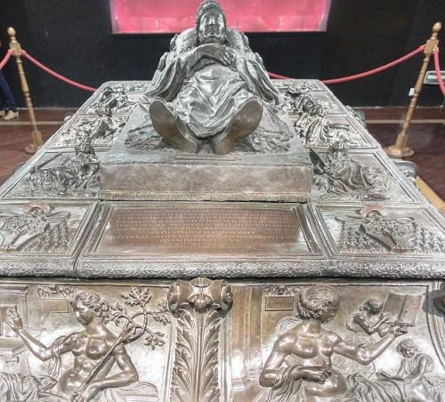 Nagrobek papieża Sykstusa IV, Antonio del Pollaiolo, skarbiec bazyliki San Pietro in Vaticano