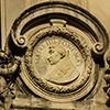 Medalion z wizerunkiem papieża Sykstusa IV, fasada kościoła Santa Maria della Pace