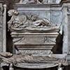 Jacopo Sansovino, nagrobek Giovanniego Michiela i Antonia Orsa, fragment, kościół San Marcello