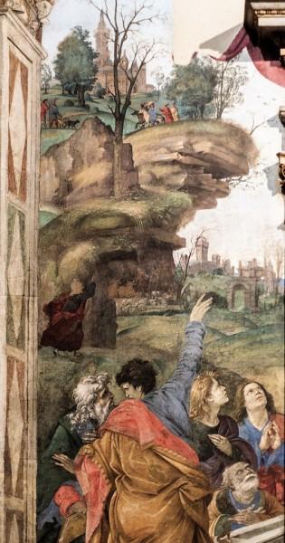 Carafa Chapel, Apostles at the grave of the Virgin Mary, Filippino Lippi, Basilica of Santa Maria sopra Minerva
