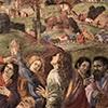 Kaplica Carafy, apostołowie przy grobie Marii (detal), Filippino Lippi, bazylika Santa Maria sopra Minerva