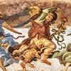 Kaplica Carafy, muzykujące anioły (detal), Filippino Lippi, bazylika Santa Maria sopra Minerva