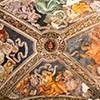 Carafa Chapel, Sibyls on the vault of the chapel, Basilica of Santa Maria sopra Minerva