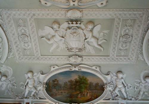 Casino Ludovisi, dekoracje sufitu jadalni
