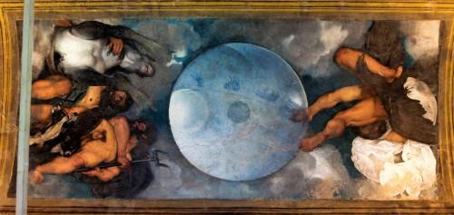 Casino Ludovisi, salka z malowidłem Caravaggia