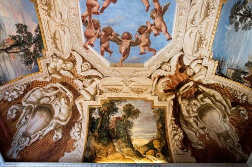 Casino Ludovisi, Stanza del Caminetto, malowidło stropu