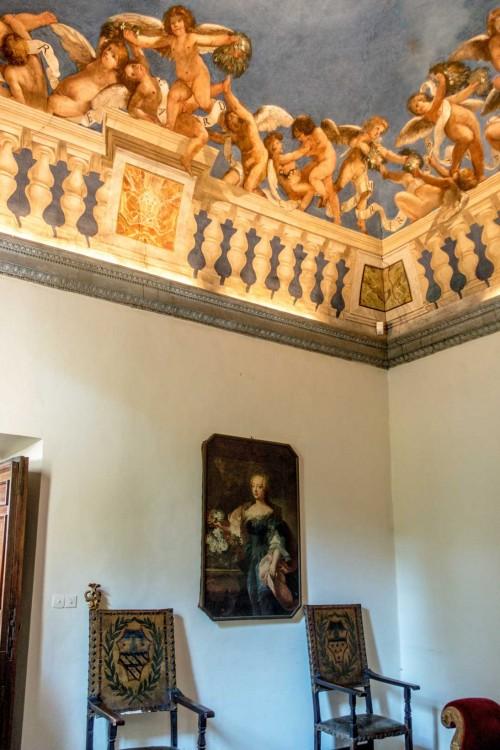 Casino Ludovisi, strop dawnej biblioteki, Giovanni L. Valesio