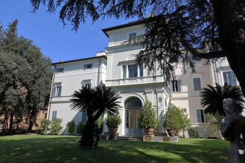 Casino Ludovisi, widok fasady ogrodowej
