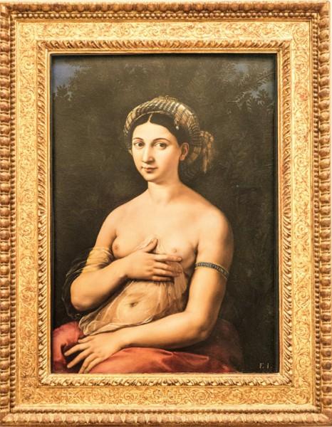 La Fornarina, Rafael, Galleria Nazionale d'Arte Antica, Palazzo Barberini