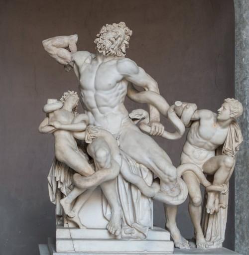 Grupa Laokoona, Musei Vaticani