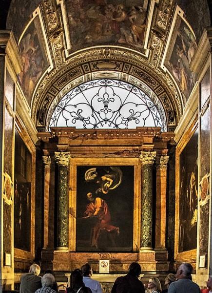 Kaplica Contarelli, kościół San Luigi dei Francesi