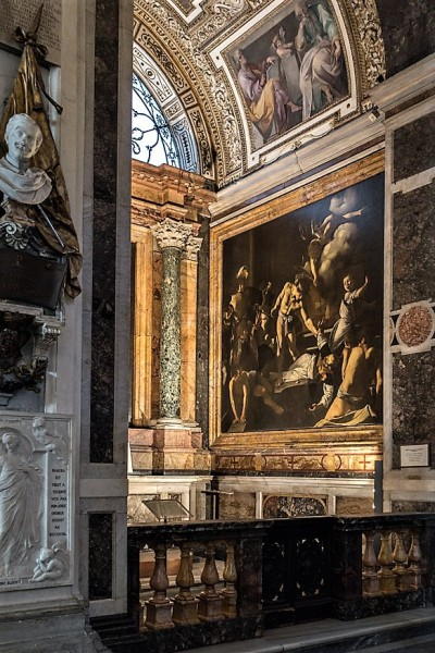 Kaplica Contarellich, kościół San Luigi dei Francesi