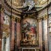 Francesco Cavallini, dekoracje rzeźbiarskie ołtarza głównego bazyliki San Carlo al Corso
