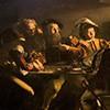 Powołanie św. Mateusza, Caravaggio, fragment, kościół San Luigi dei Francesi