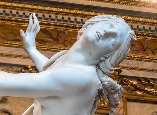 Gian Lorenzo Bernini, Porwanie Prozerpiny, fragment, Galleria Borghese