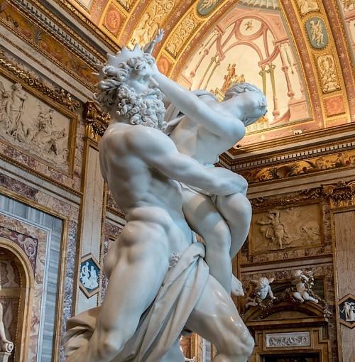 Porwanie Prozerpiny, Gian Lorenzo Bernini, Galleria Borghese
