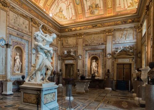 The Rape of Proserpina (italian: Ratto di Proserpina), Gian Lorenzo Bernini, Galleria Borghese