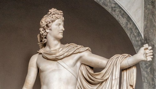 Apollo Belwederski, fragment, Musei Vaticani
