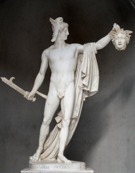 Perseusz z głową Meduzy, Antonio Canova, Musei Vaticani