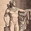 Apollo Belwederski, Marcantonio Raimondi, 1530 r., zdj. Wikipedia