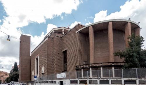 Bryła bazyliki San Cuore di Cristo Re, Marcello Piacentini