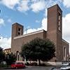 Fasada kościoła San Cuore di Cristo Re, Marcello Piacentini
