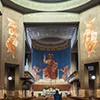 Church of San Cuore di Cristo Re, Marcello Piacentini, Christ the Judge – fresco in the church apse