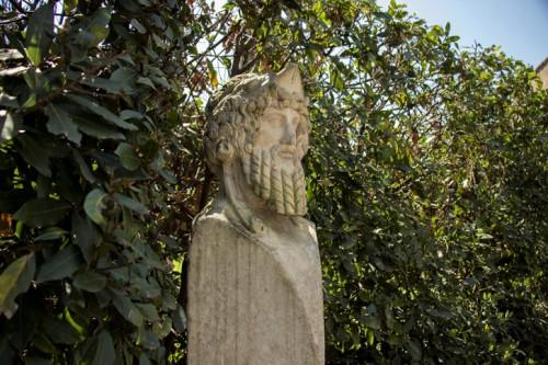 Dekoracje w ogrodach willi Medici