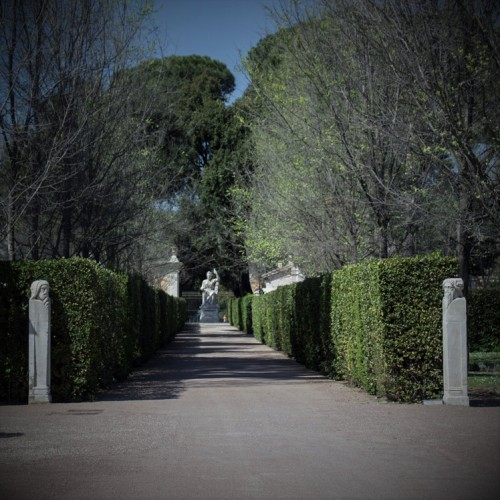 Ogrody willi Medici
