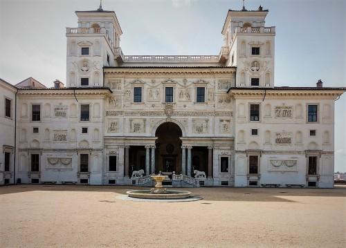 Villa Medici, garden façade