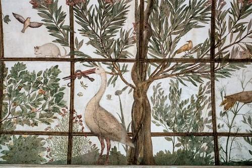 Villa Medici, Bird Pavilion of Cardinal Ferdinand de Medici, decorations by Jacopo Zucchi
