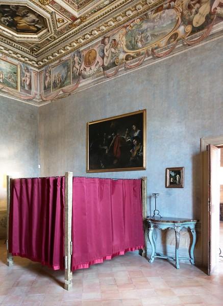 Willa Medici, Sala delle Muse