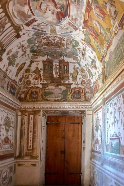 Villa Medici, studiolo of Cardinal Ferdinand de Medici