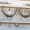 Willa Medici, casino - antyczne girlandy początkowo znajdujące się na elewacji Ara Pacis (Ołtarza Pokoju)