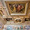 Willa Medici, casino - Sala degli Elementi, freski Jacopo Zucchiego