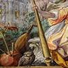 Willa Medici, casino - Sala delle Muse, fresk Jacopo Zucchiego, fragment