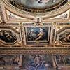 Willa Medici, casino - Sala delle Muse, freski Jacopo Zucchiego