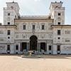 Willa Medici, casivo - fasada ogrodowa
